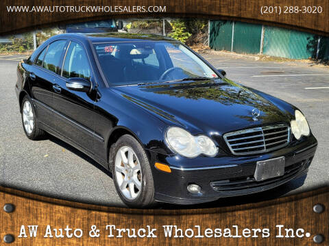 2007 Mercedes-Benz C-Class for sale at AW Auto & Truck Wholesalers  Inc. in Hasbrouck Heights NJ