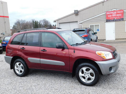 2005 Toyota RAV4 for sale at Macrocar Sales Inc in Akron OH