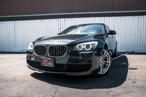 2015 BMW 7 Series for sale at Private Club Motors in Houston TX