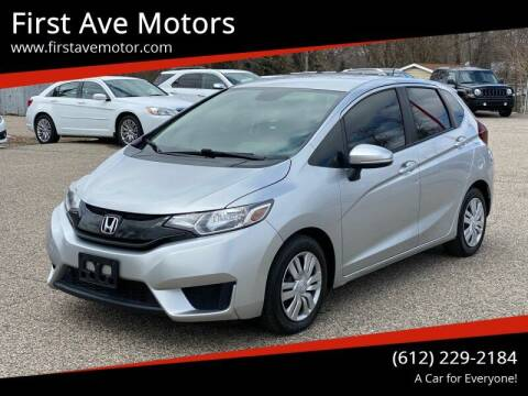 2016 Honda Fit for sale at First Ave Motors in Shakopee MN