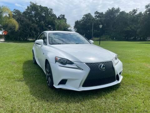 2014 Lexus IS 250 for sale at AM Auto Sales in Orlando FL