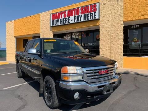 2007 GMC Sierra 1500 Classic for sale at Marys Auto Sales in Phoenix AZ