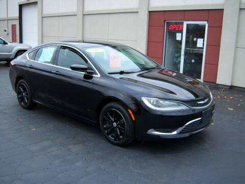 2015 Chrysler 200 for sale at Blatners Auto Inc in North Tonawanda NY