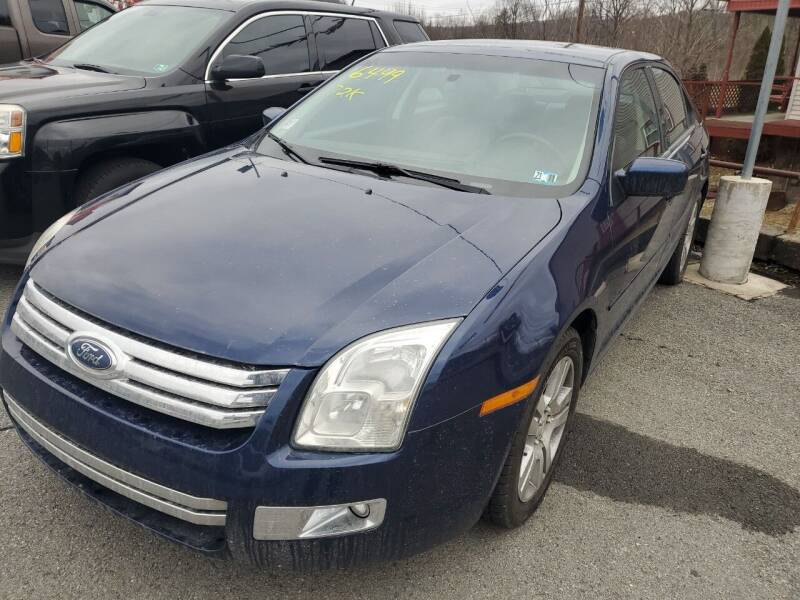 2006 Ford Fusion for sale at Mulligan's Auto Exchange LLC in Paxinos PA