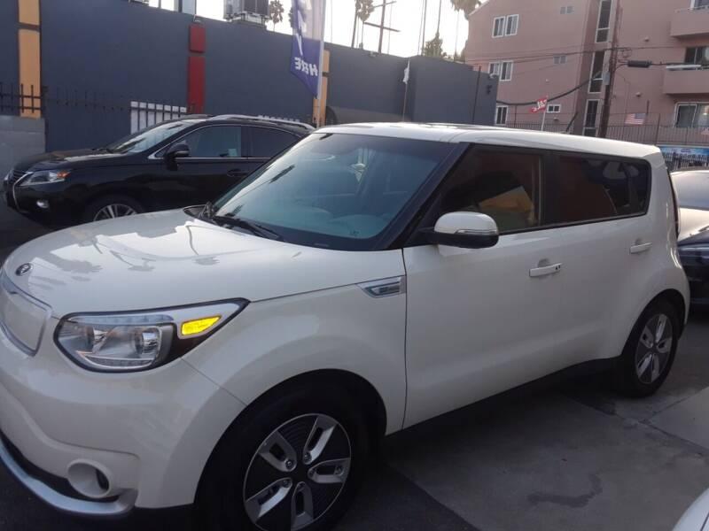 2017 Kia Soul EV for sale at Western Motors Inc in Los Angeles CA