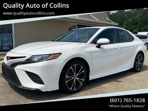 2018 Toyota Camry for sale at Quality Auto of Collins in Collins MS