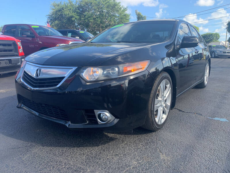 2012 Acura TSX for sale at Bargain Auto Sales in West Palm Beach FL