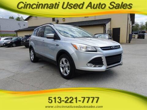 2014 Ford Escape for sale at Cincinnati Used Auto Sales in Cincinnati OH