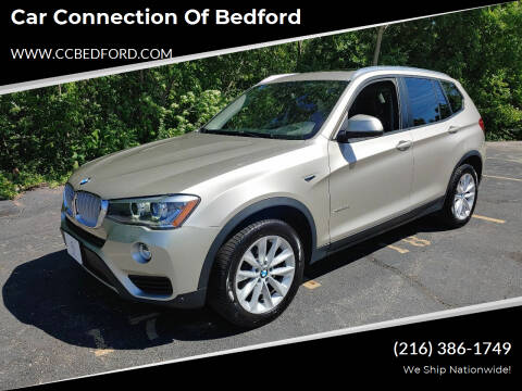 2015 BMW X3 for sale at Car Connection of Bedford in Bedford OH