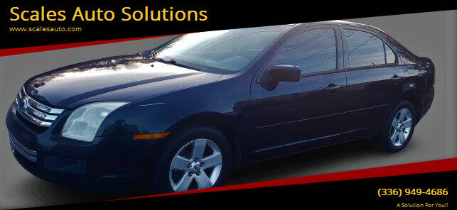 2009 Ford Fusion for sale at Scales Auto Solutions in Madison NC