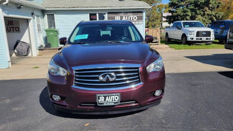 2013 Infiniti JX35 for sale at JR Auto in Brookings SD
