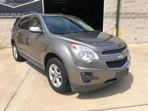 2012 Chevrolet Equinox for sale at KAYALAR MOTORS - ECUFAST HOUSTON in Houston TX