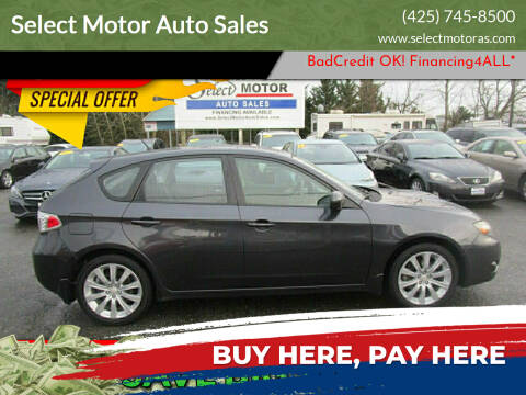 2008 Subaru Impreza for sale at Select Motor Auto Sales in Lynnwood WA
