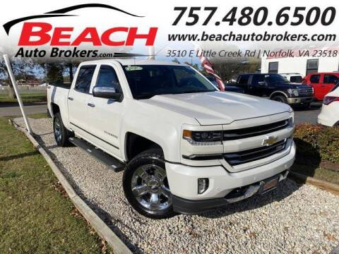 2017 Chevrolet Silverado 1500 for sale at Beach Auto Brokers in Norfolk VA