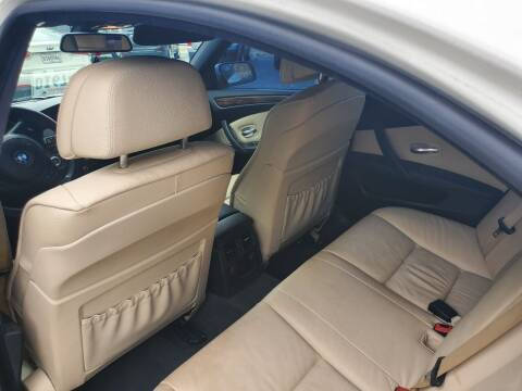 2010 BMW 5 Series for sale at Bill Bailey's Affordable Auto Sales in Lake Charles LA