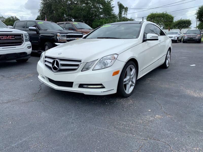 2013 Mercedes-Benz E-Class for sale at Bargain Auto Sales in West Palm Beach FL