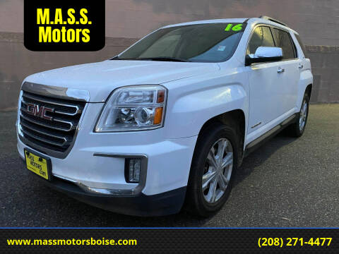 2016 GMC Terrain for sale at M.A.S.S. Motors in Boise ID