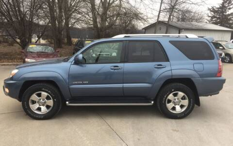 2004 Toyota 4Runner for sale at 6th Street Auto Sales in Marshalltown IA