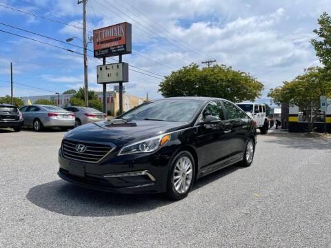 2015 Hyundai Sonata for sale at Autohaus of Greensboro in Greensboro NC