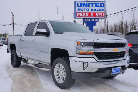 2017 Chevrolet Silverado 1500 for sale at United Auto Sales in Anchorage AK