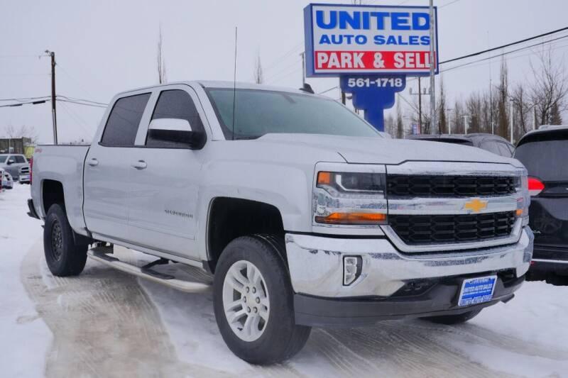 2017 Chevrolet Silverado 1500 for sale at United Auto Sales in Anchorage AK