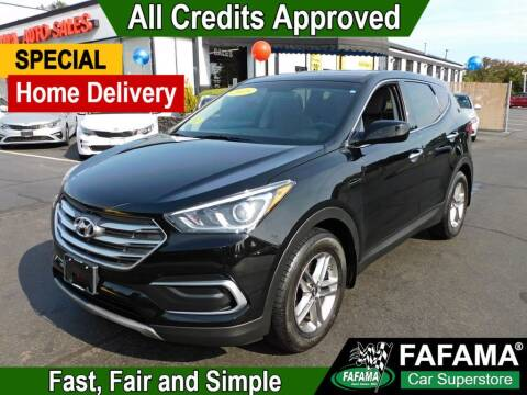 2018 Hyundai Santa Fe Sport for sale at FAFAMA AUTO SALES Inc in Milford MA