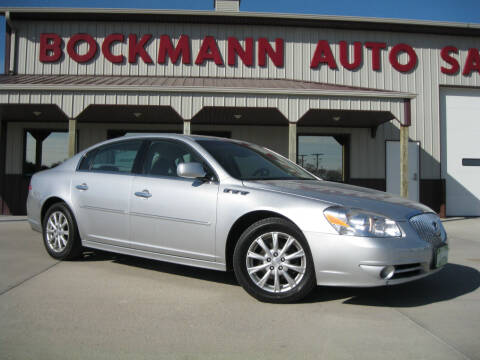 2011 Buick Lucerne for sale at Bockmann Auto Sales in St. Paul NE