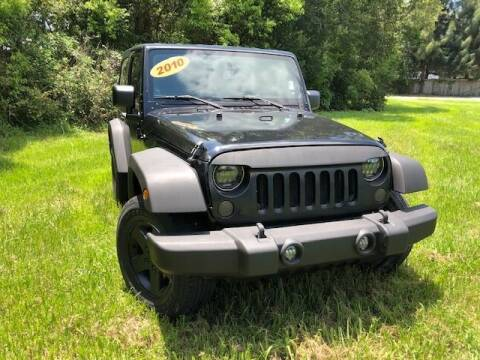2010 Jeep Wrangler for sale at Unique Motor Sport Sales in Kissimmee FL
