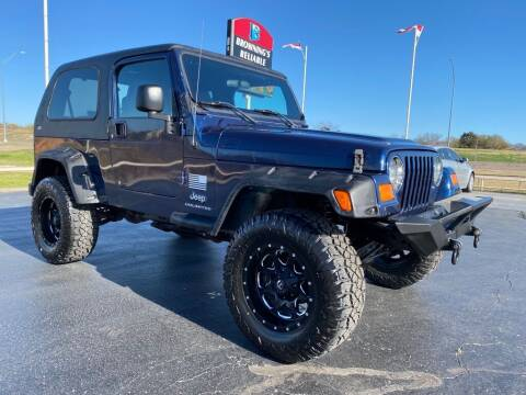 2005 Jeep Wrangler for sale at Browning's Reliable Cars & Trucks in Wichita Falls TX