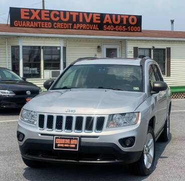 2012 Jeep Compass for sale at Executive Auto in Winchester VA