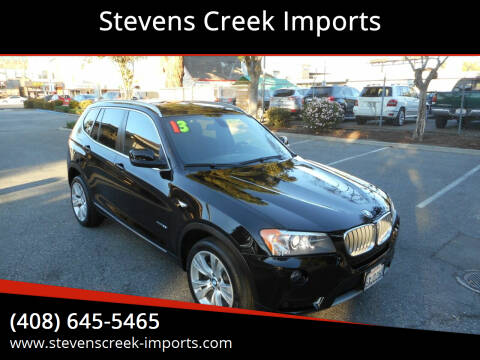 2013 BMW X3 for sale at Stevens Creek Imports in San Jose CA