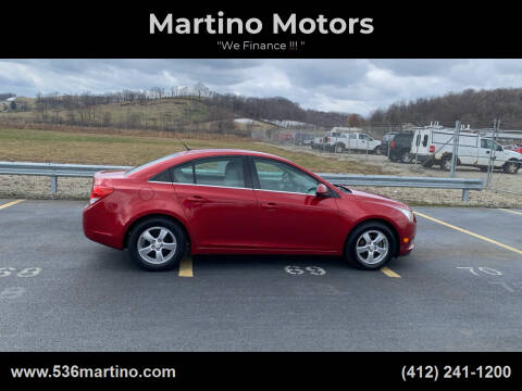 2011 Chevrolet Cruze for sale at Martino Motors in Pittsburgh PA