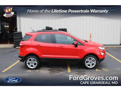 2021 Ford EcoSport for sale at JACKSON FORD GROVES in Jackson MO