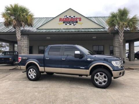 2013 Ford F-150 for sale at Rabeaux's Auto Sales in Lafayette LA