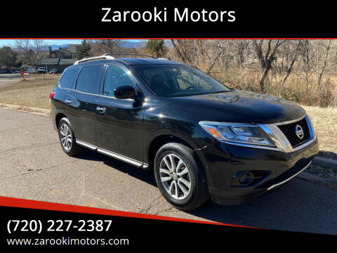 2013 Nissan Pathfinder for sale at Zarooki Motors in Englewood CO