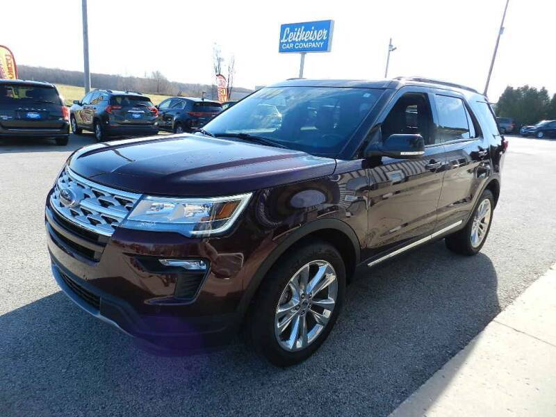 2018 Ford Explorer for sale at Leitheiser Car Company in West Bend WI