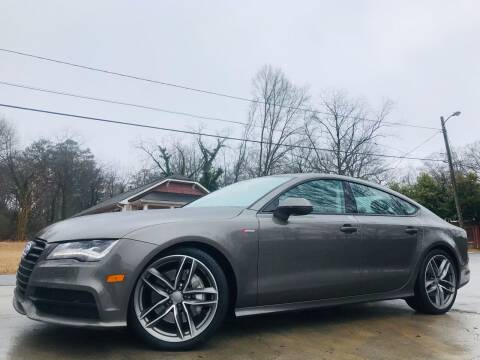 2015 Audi A7 for sale at Cobb Luxury Cars in Marietta GA