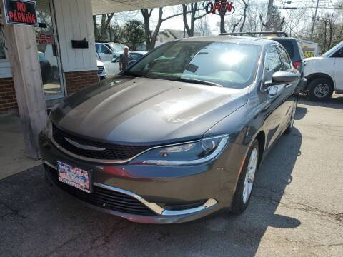 2017 Chrysler 200 for sale at New Wheels in Glendale Heights IL