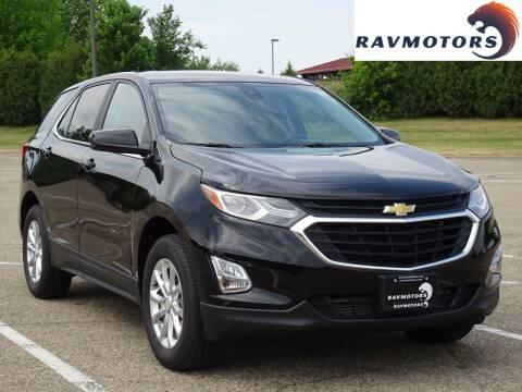2021 Chevrolet Equinox for sale at RAVMOTORS in Burnsville MN