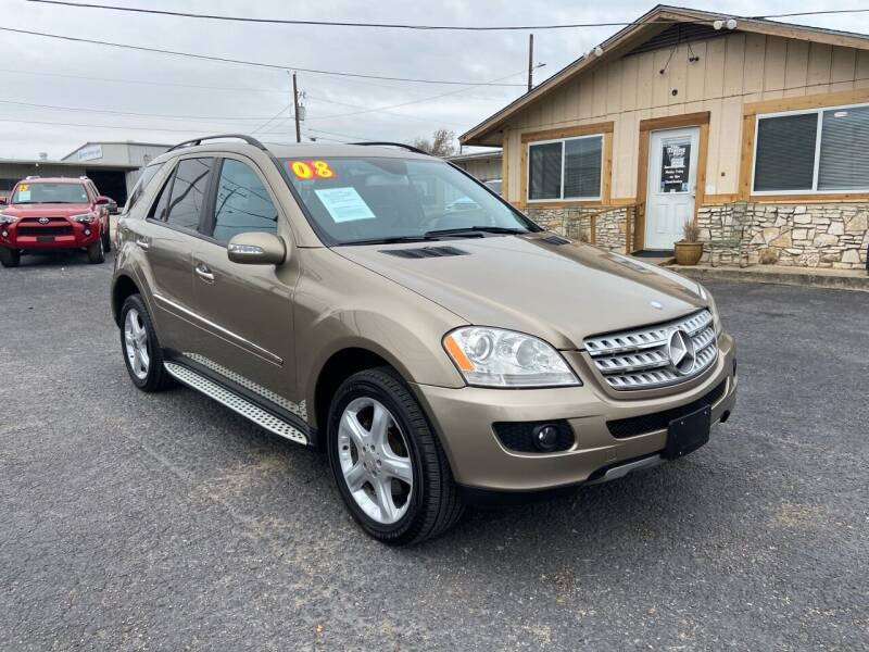 2008 Mercedes-Benz M-Class for sale at The Trading Post in San Marcos TX