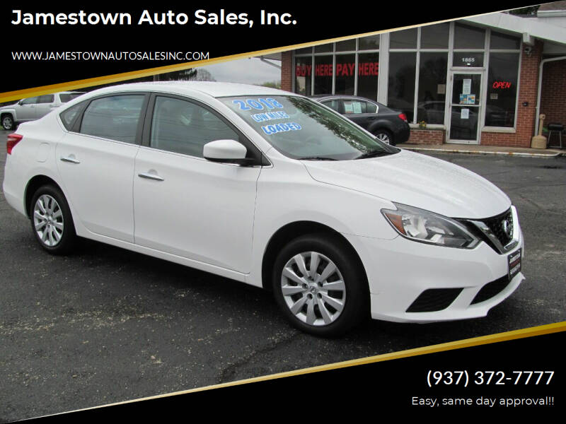 2018 Nissan Sentra for sale at Jamestown Auto Sales, Inc. in Xenia OH