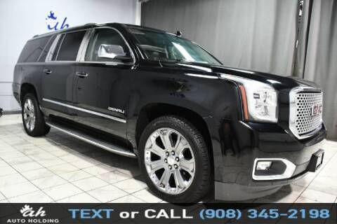 2016 GMC Yukon XL for sale at AUTO HOLDING in Hillside NJ