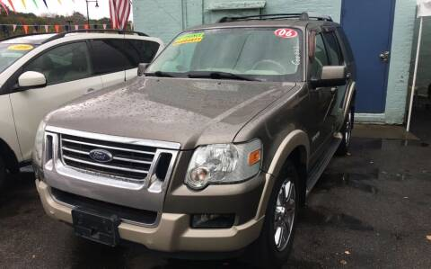 2006 Ford Explorer for sale at Polonia Auto Sales and Service in Hyde Park MA