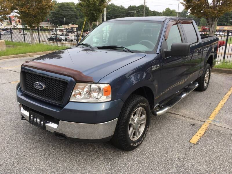 2005 Ford F-150 for sale at Legacy Motor Sales in Norcross GA