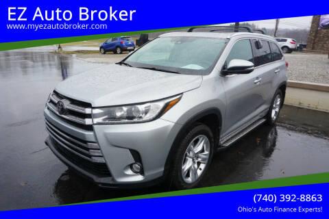 2017 Toyota Highlander for sale at EZ Auto Broker in Mount Vernon OH
