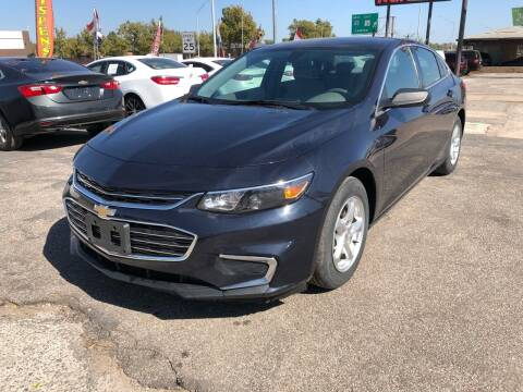 2017 Chevrolet Malibu for sale at Ital Auto in Oklahoma City OK