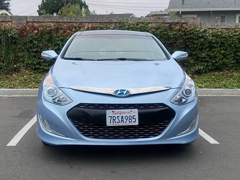 2012 Hyundai Sonata Hybrid for sale at CARFORNIA SOLUTIONS in Hayward CA