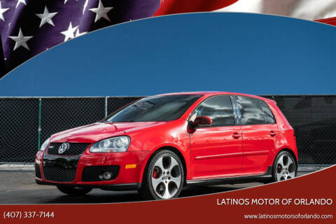 2009 Volkswagen GTI for sale at LATINOS MOTOR OF ORLANDO in Orlando FL