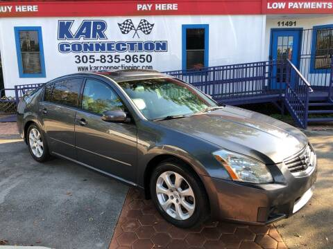 2007 Nissan Maxima for sale at Kar Connection in Miami FL
