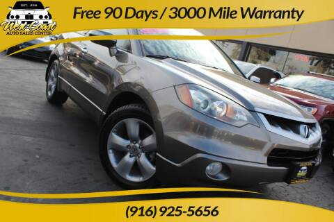 2007 Acura RDX for sale at West Coast Auto Sales Center in Sacramento CA